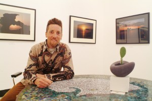 Me in my old gallery/studio at Sorrent